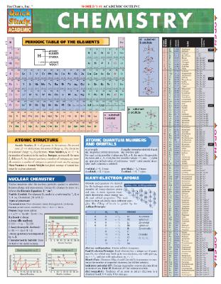 Image for Chemistry (Quickstudy Reference Guides - Academic)