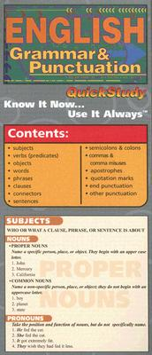 Image for Compact English Grammar (Quickstudy: Academic)
