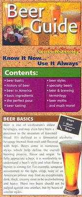 Image for Beer Laminate Reference Charts (Quickstudy: Home)