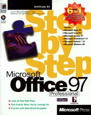 Image for Microsoft Office 97 Professional 6-In-1 Step by Step (Step By Step Series)
