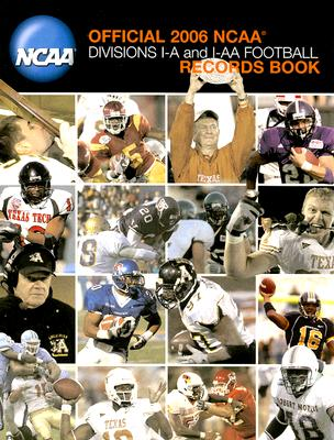 Image for Official 2006 Ncaa Football Records Book: Divisions I-a and I-aa Football
