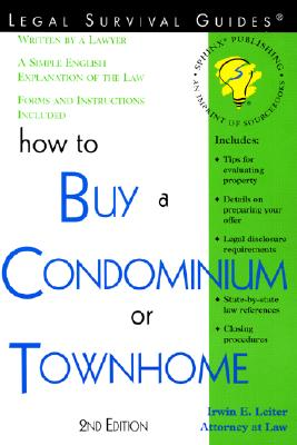 Image for HOW TO BUY A CONDOMINIUM OR TOWNHOME