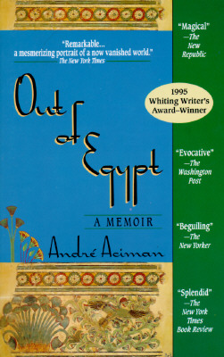 Image for Out Of Egypt: A Memoir