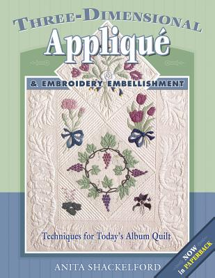 Image for THREE-DIMENSIONAL APPLIQUE & EMBROIDERY