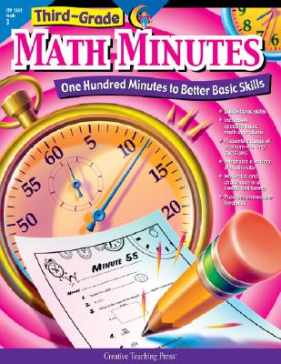 Image for Math Minutes, 3rd Grade (CTP 2585) (One Hundred Minutes to Better Basic Skills)