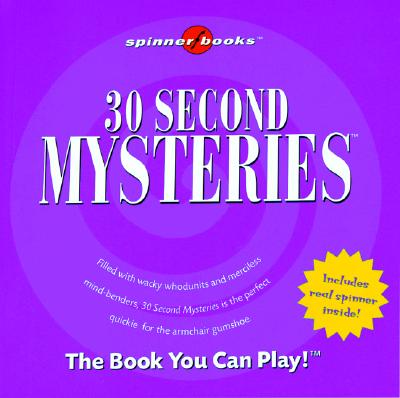 Image for 30 Second Mysteries [With Spinner]