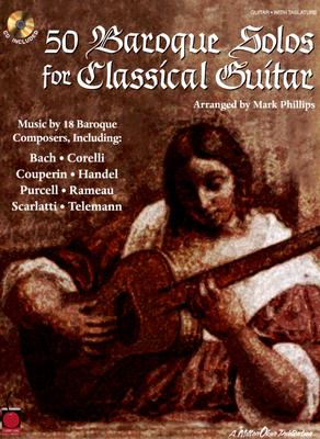 Image for 50 Baroque Solos for Classical Guitar