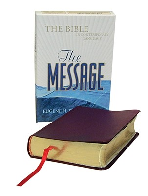 Image for The Message (Burgundy Gen. Leather Compact Size)