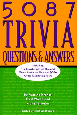 Image for 5087 Trivia Questions & Answers