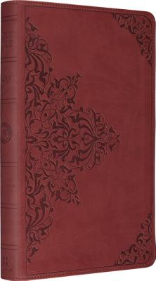 ESV Thinline Bible, TruTone, Nutmeg, Filigree Design, Red Letter Text Imitation Leather, ESV Bibles by Crossway (Author)