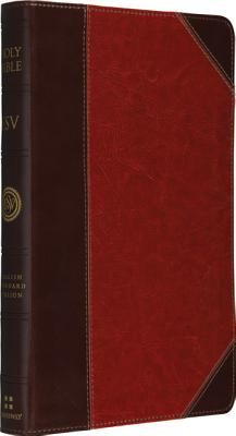 Image for ESV, Brown/Cordovan, Portfolio Design, Red Letter, Thinline Trutone