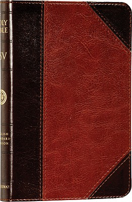 Image for The Holy Bible: English Standard Version, Compact TruTone Edition (Brown/Cordovan, Portfolio Design, Red Letter)