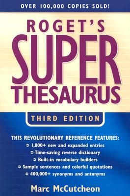 Image for Roget's Super Thesaurus (Rogets)