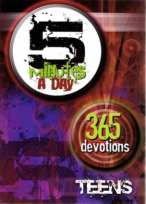 Image for 5 Minutes A Day 365 Devotions-Teens