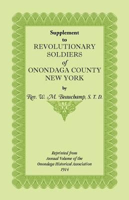 Image for Supplement to Revolutionary Soldiers of Onondaga County, New York