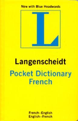 Image for Langenscheidt French Pocket Dictionary: French/English/English/French (Langenscheidt's Pocket Dictionaries) (French Edition)