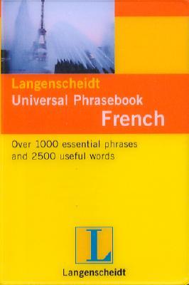 Image for French Phrasebook (Langenscheidt's Universal Phrasebook)