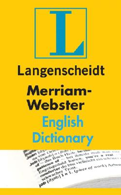 Image for MERRIAM-WEBSTER ENGLISH DICTIONARY