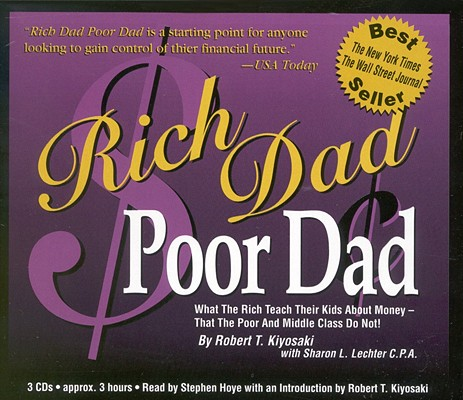 Image for RICH DAD POOR DAD ABRIDGED ON 3 CDS
