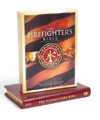 Image for The Firefighters Bible (Holman Christian Standard Bible, Bonded Leather, Red)