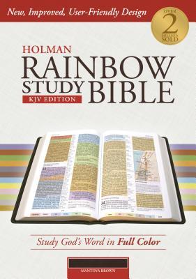 Image for Holman Rainbow Study Bible: KJV Edition, Mantova Brown LeatherTouch