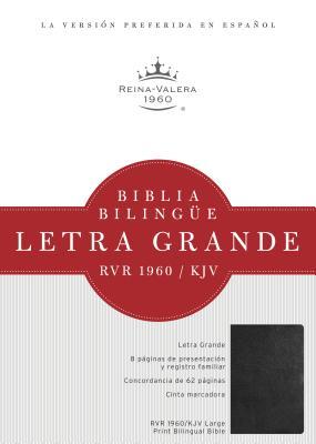 Image for RVR 1960/KJV Biblia Bilingüe Letra Grande, negro tapa dura (Spanish Edition)
