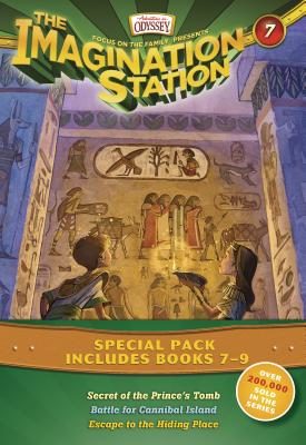 Image for Imagination Station Books 3-Pack: Secret of the Prince's Tomb / Battle for Cannibal Island / Escape to the Hiding Place (AIO Imagination Station Books)