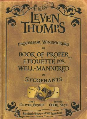 Image for Professor Winsnicker's Book of Proper Etiquette for Well-mannered Sycophants (Leven Thumps)