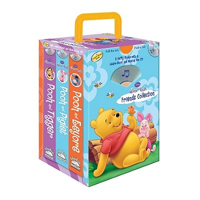 Image for Disney Winnie the Pooh Pooh & Eeyore, Pooh & Piglet, Pooh & Tigger (3 books, storage case with handle) (Friends Collection)