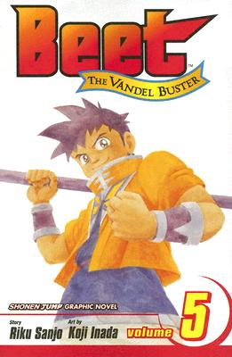 Beet The Vandel Buster, Volume 5 (Beet The Vandel Buster), Sanjo, Riku