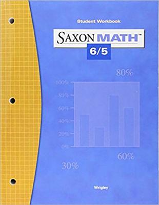 Image for Saxon Math 6/5 Student Workbook, 3rd Edition