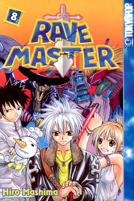 Image for Rave Master (Rave Master (Graphic Novels)), Vol. 8