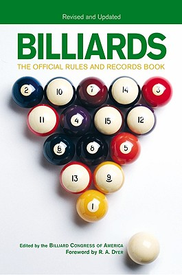 Image for BILLIARDS THE OFFICIAL RULES AND RECORD BOOK