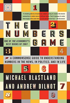 Image for Numbers Game: The Commonsense Guide to Understanding Numbers in the News, in Pol