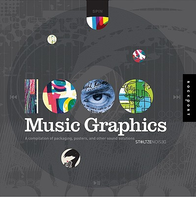 Image for 1,000 Music Graphics: A compilation of packaging, posters, and other sound solutions (1000 Series)