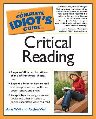 Image for Complete Idiots Guide To Critical Reading