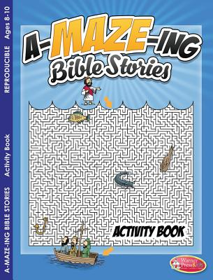 Coloring & Activity Book - A-MAZE-ING Bible Stories (8-10), Warner Press