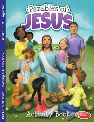 Image for Coloring & Activity Book -  Parables of Jesus (8-10)
