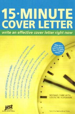 Image for 15 Minute Cover Letter: Write An Effective Cover Letter Right Now
