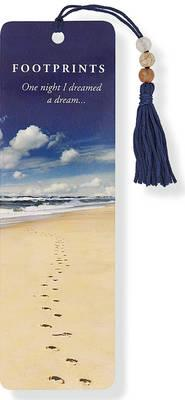 Image for Footprints Beaded Bookmark