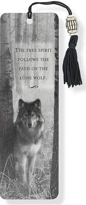 Image for Wolf Beaded Bookmark