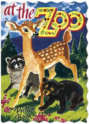 Image for At The Zoo Picture Shape Book