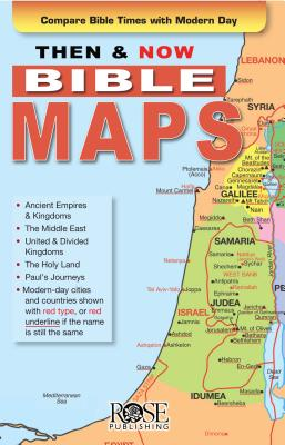 Image for Then and Now Bible Maps - Fold out Pamphlet