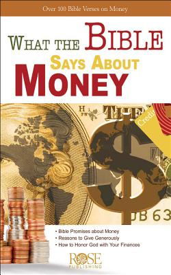 Image for What the Bible Says about Money: Over 100 Bible Verses on Money - Package Of 5 Pamphlets