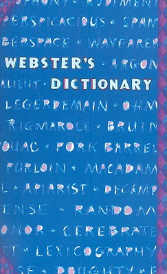 Image for Webster's Dictionary (Blue Words)