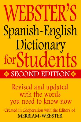 Image for WEBSTER'S SPANISH-ENGLISH DICTIONARY FOR STUDENTS