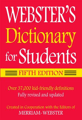 Image for Merriam-Webster Webster's Dictionary for Students, Fifth Edition