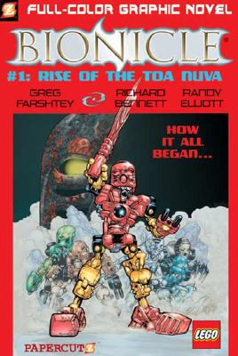 Image for Bionicle #1: Rise of the Toa Nuva (Bionicle Graphic Novels)