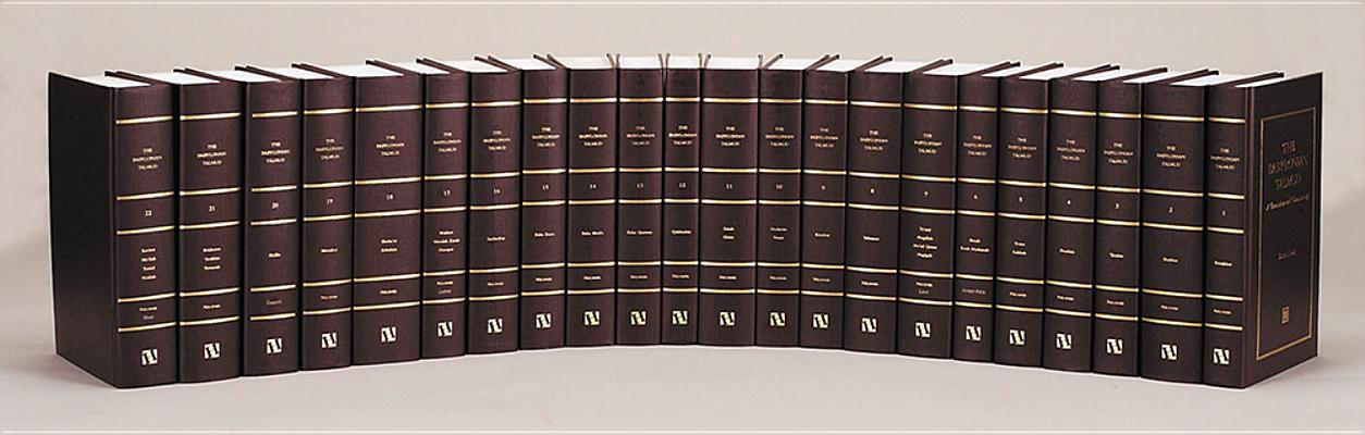 Image for THE BABYLONIAN TALMUD, 22 VOLS A Translation and Commentary