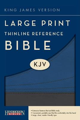 Image for The Holy Bible: King James Version, Slate/ Blue Flexisoft, Thinline Reference Bible